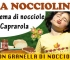 Nasce la nuova Crema di Nocciole di Caprarola