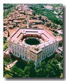 Veduta aerea del Palazzo Farnese