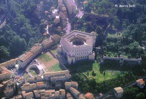 Palazzo Farnese di Caprarola, veduta aerea