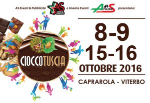 Leggi tutto: CioccoTuscia 2016 - Caprarola, 8-9, 15-16 Ottobre