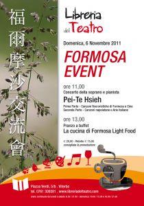 Leggi tutto: Formosa Event - 6 novembre 2011