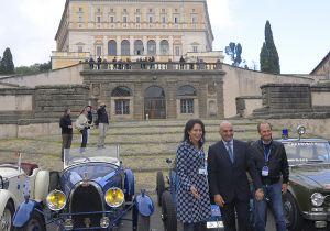 Leggi tutto: il Tour delle Bugatti passa a Caprarola