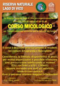 Leggi tutto: Corso Micologio - Riserva Naturale Lago di Vico
