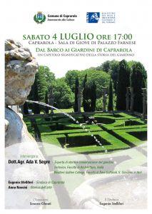 Leggi tutto: Dal Barco ai giardini di Caprarola